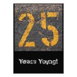 25to Cumpleaños-Invitación