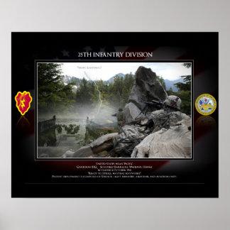 25to División de Infanrty Posters