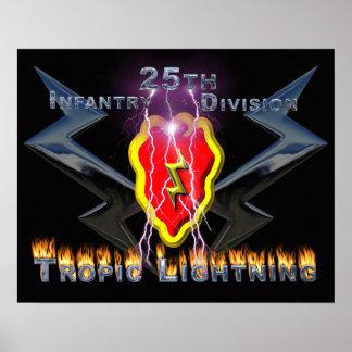 25to División de infantería Póster