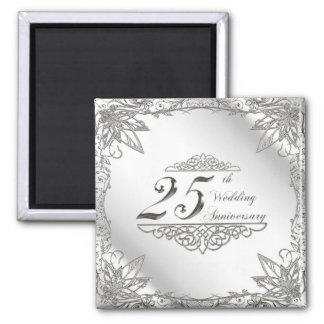 25to Imán del aniversario de boda