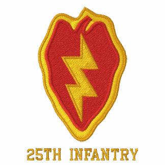 25to Infantería Camiseta Polo Bordada