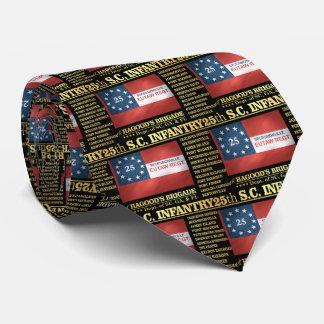 25to Infantería de Carolina del Sur (BA2) Corbatas Personalizadas