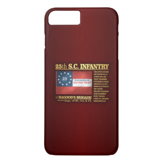 25to Infantería de Carolina del Sur (BA2) Funda iPhone 7 Plus