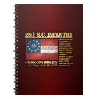 25to Infantería de Carolina del Sur (BA2) Libro De Apuntes