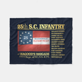 25to Infantería de Carolina del Sur (BA2) Manta Polar