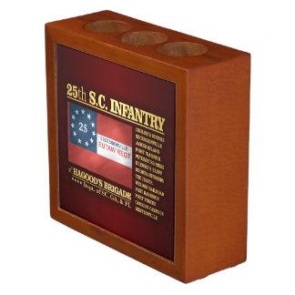 25to Infantería de Carolina del Sur (BA2) Organizador De Escritorio