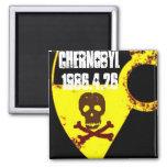 25to monumento del año de Chernóbil Iman De Nevera