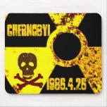 25to monumento del año de Chernóbil Alfombrilla De Raton