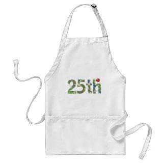 25to Regalo del delantal del cumpleaños