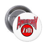 25to Regalos del aniversario de boda Pins