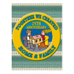 25to Regalos del aniversario de boda Tarjeta Postal
