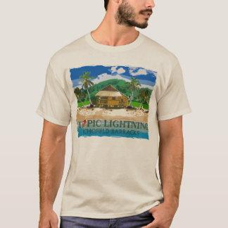 25to Relámpago tropical Hawaii de la división de Playera