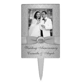 25to Selección de la torta del aniversario de boda Figuras De Tarta