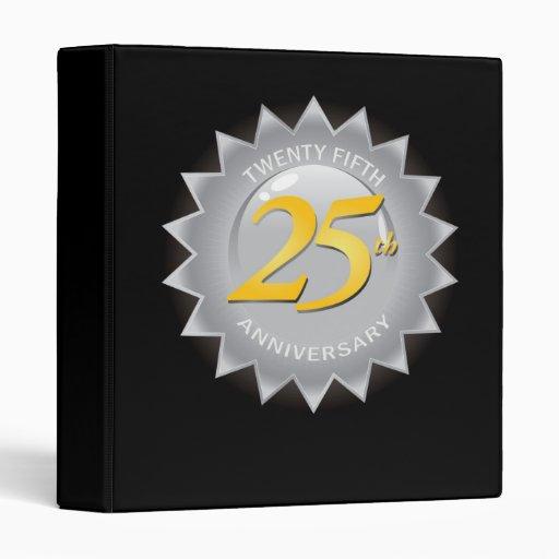 """25to Sello de plata del aniversario Carpeta 1"""""""