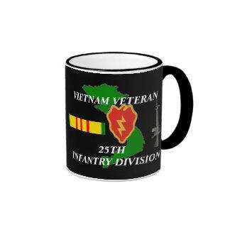 25to Tazas de café del veterano de Vietnam de la d