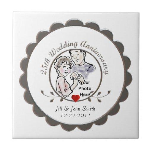 25to Teja del aniversario de boda