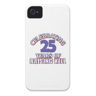 25tos diseños divertidos iPhone 4 Case-Mate funda
