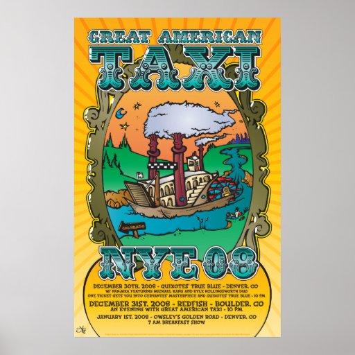 261 Great American Taxi NYE Print