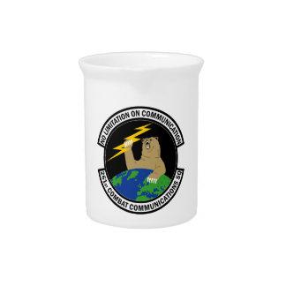 261st Combat Communications Squadron Pitcher