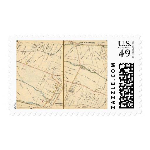 262263 Rye, Harrison Stamps