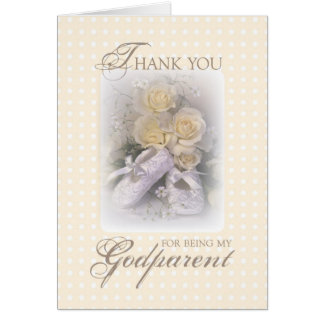 2629 Thank You Godparent Greeting Card