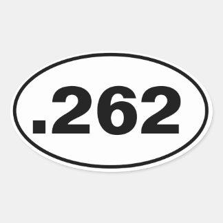 .262 OVAL STICKER