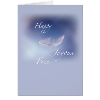 2634 Recovery Happy Joyous Free Card