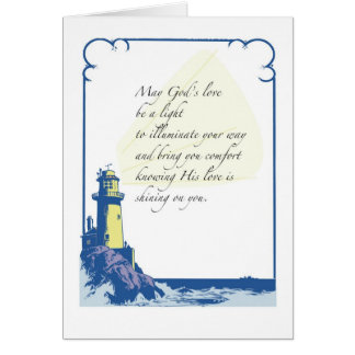 2639 Lighthouse Comfort Thinking of You Greeting Cards