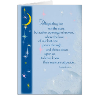 2654 Stars in Heaven Sympathy Card