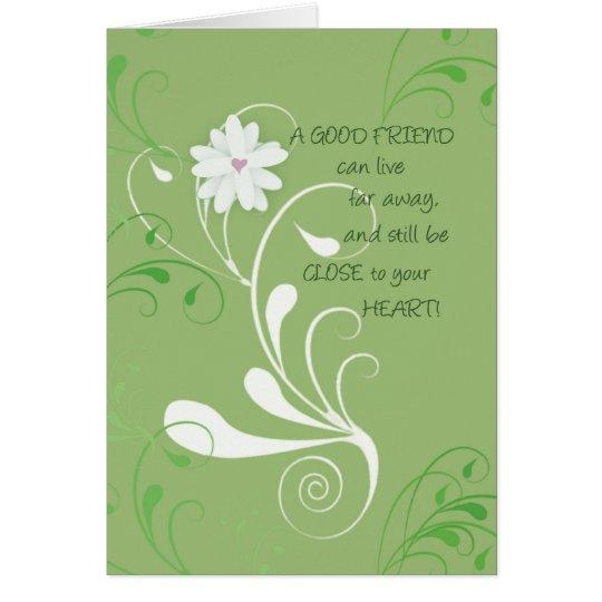 2656 Good Friend Close to Heart Card
