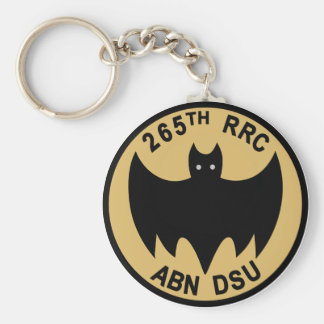 265th Radio Research Company Basic Round Button Keychain