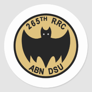 265th Radio Research Company Classic Round Sticker