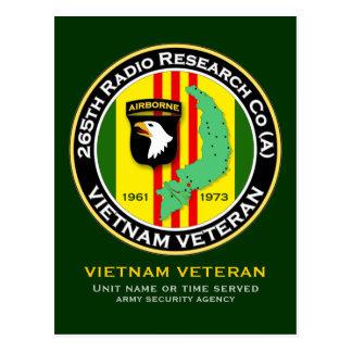 265th RRC - A 2 - ASA Vietnam Postcard