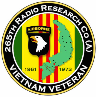 265th RRC - A 2 - ASA Vietnam Statuette