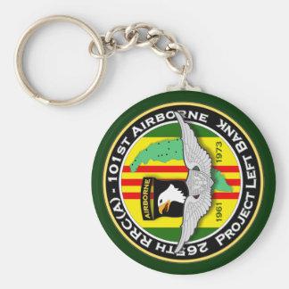265th RRC - A PLB 3c - ASA Vietnam Keychain