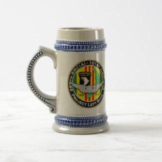 265th RRC - A PLB 3c - ASA Vietnam 18 Oz Beer Stein