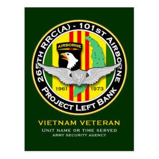 265th RRC - A PLB 3c - ASA Vietnam Postcard
