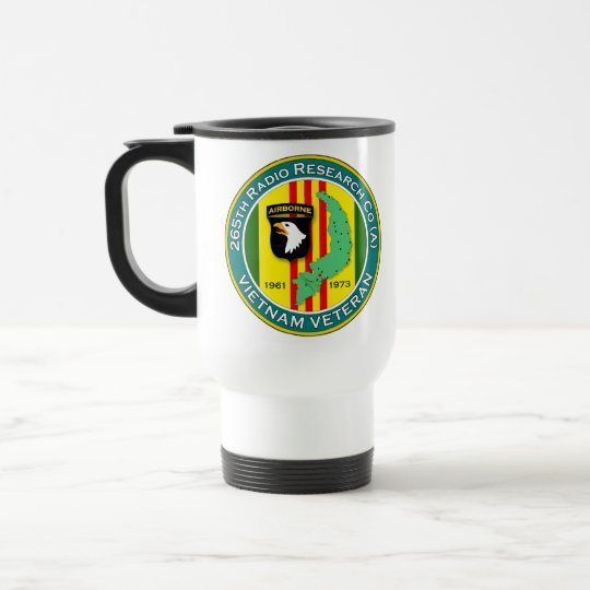265th RRC - ASA Vietnam Travel Mug