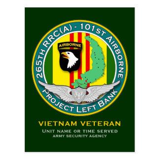 265th RRC PLB 2 - ASA Vietnam Postcard