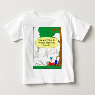 266 Déjà vu cartoon Baby T-Shirt
