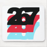 267 Area Code Mouse Pad