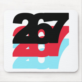 267 Area Code Mouse Pads