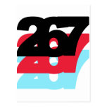 267 Area Code Post Cards