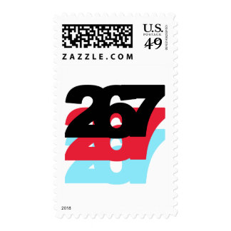 267 Area Code Stamps
