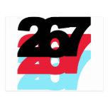 267 Area Code Postcards