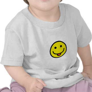 2698-Royalty-Free-Single-Emoticon-Tongue-Out HAPPY Tee Shirts