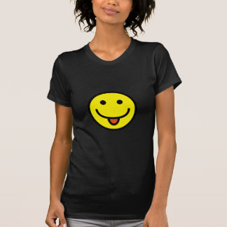 2698-Royalty-Free-Single-Emoticon-Tongue-Out HAPPY Tee Shirt
