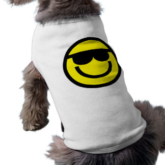 2699-Royalty-Free-Emoticon-With-Sunglasses COOL DU Tee