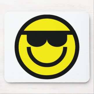 2699-Royalty-Free-Emoticon-With-Sunglasses REFRESC Mouse Pads