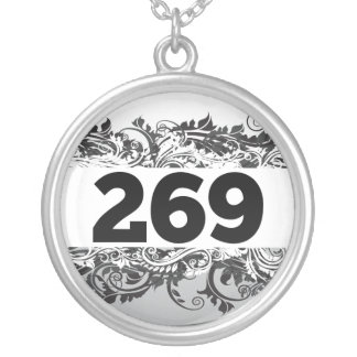 269 SILVER PLATED NECKLACE